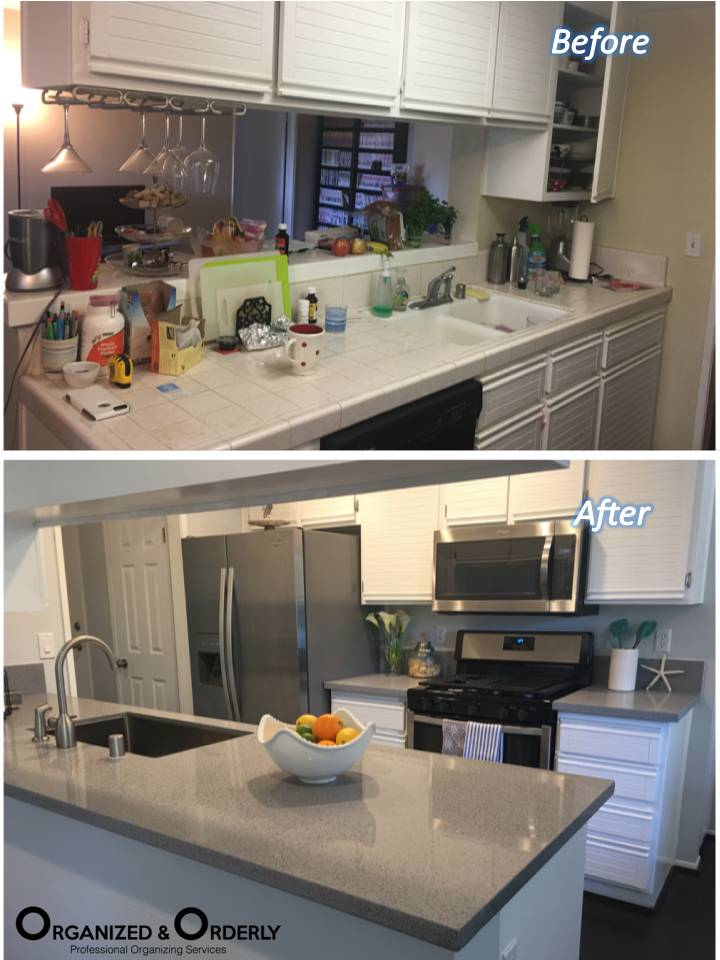kitchen cleanup