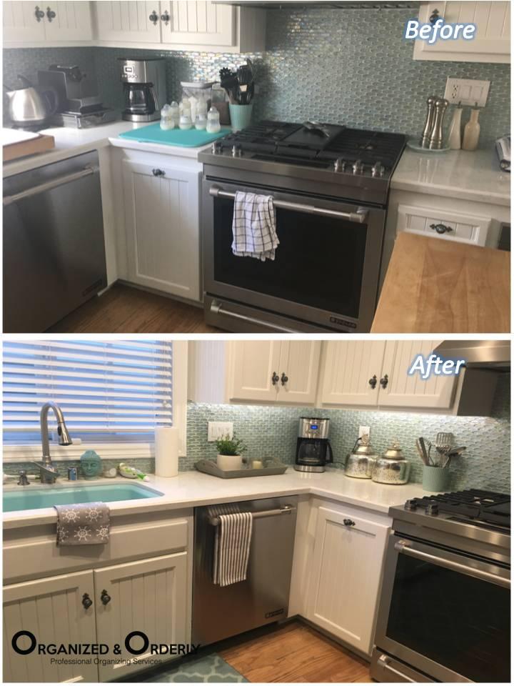 Kitchen Staging