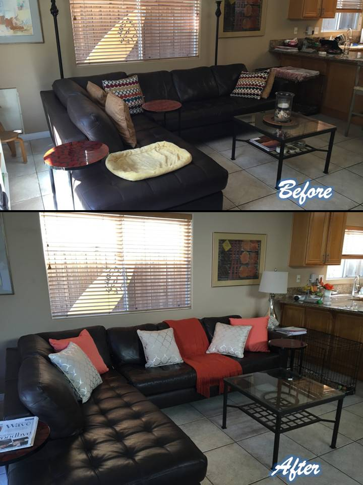 Living Room Staging