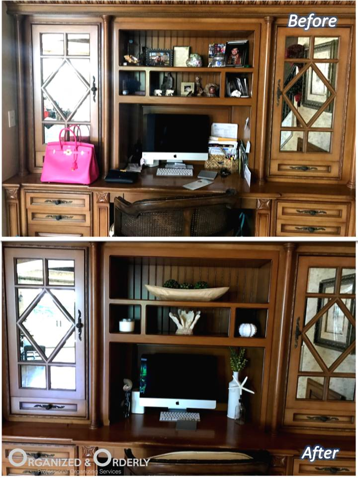 Office and Library Staging