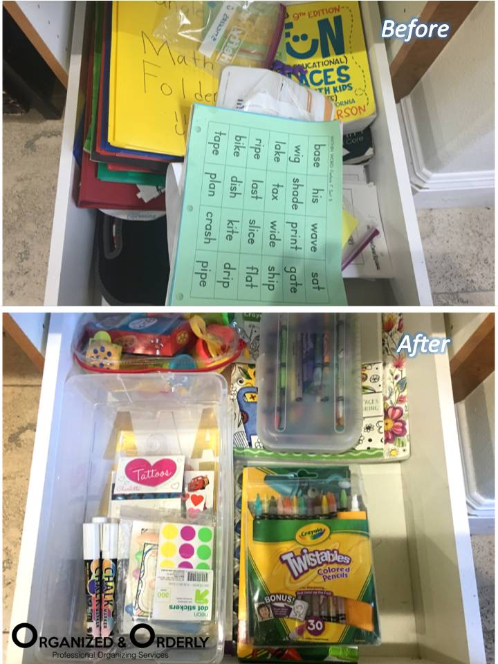 Organizing Shelves and Drawers