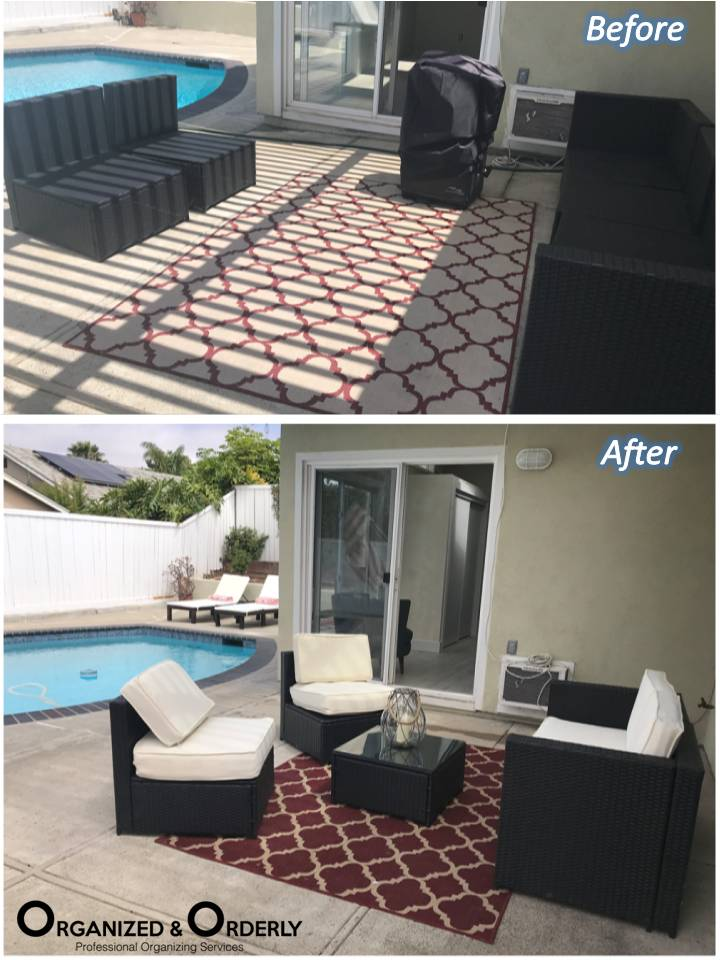 patio staging