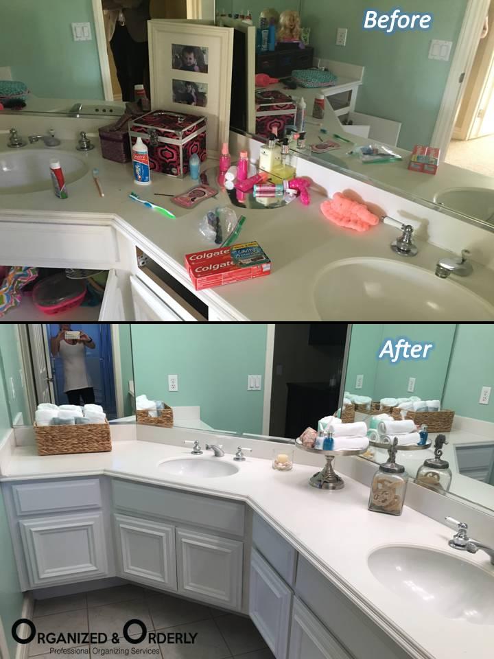 Professional Bathroom Organization