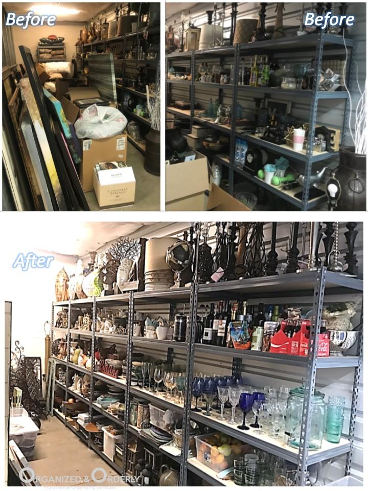 Staging Storage Unit