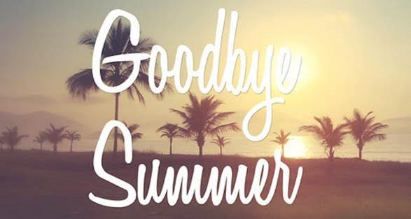 Goodbye Summer with Sunset