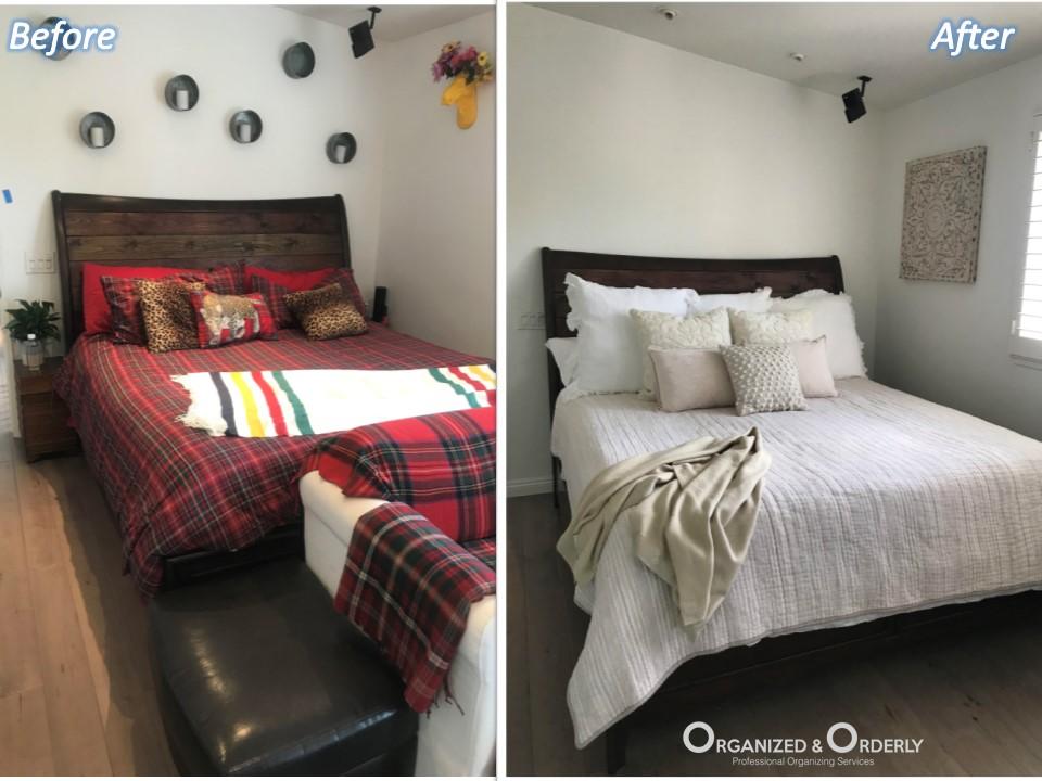 O&O Costa Mesa master bed B&A