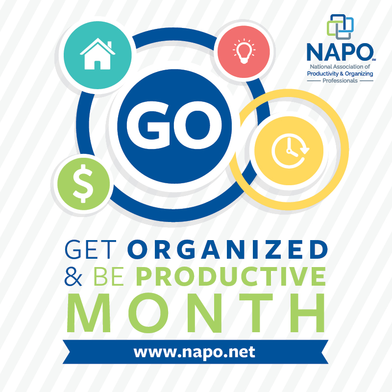 Get Organized & Be Productive Month