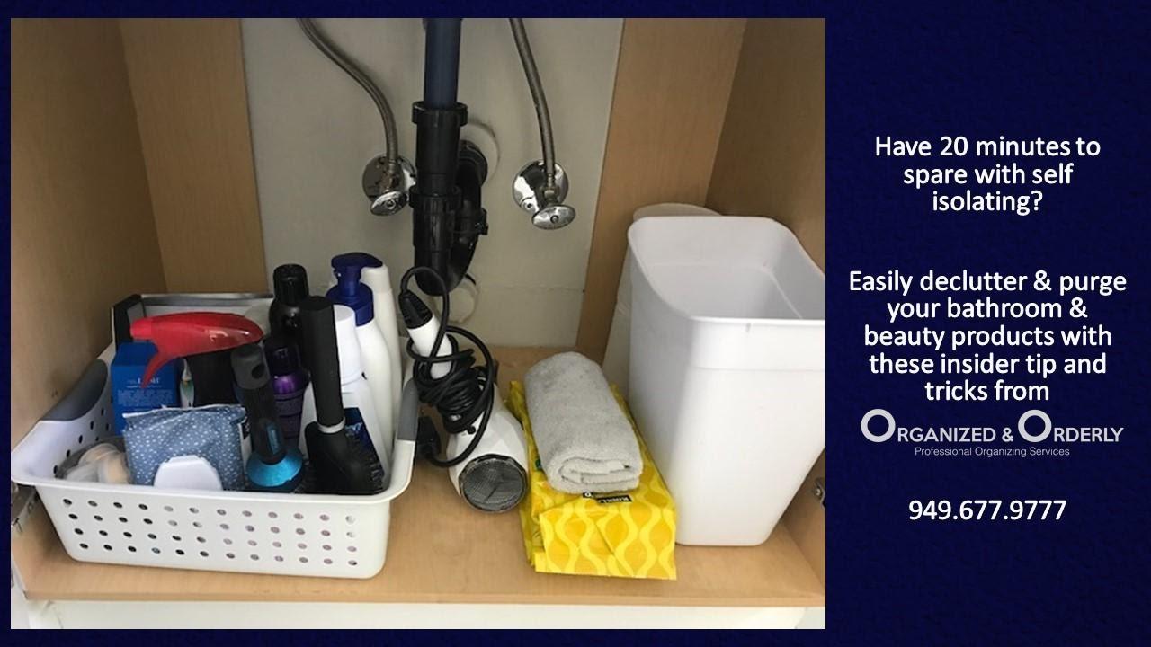 Organize Under Sink