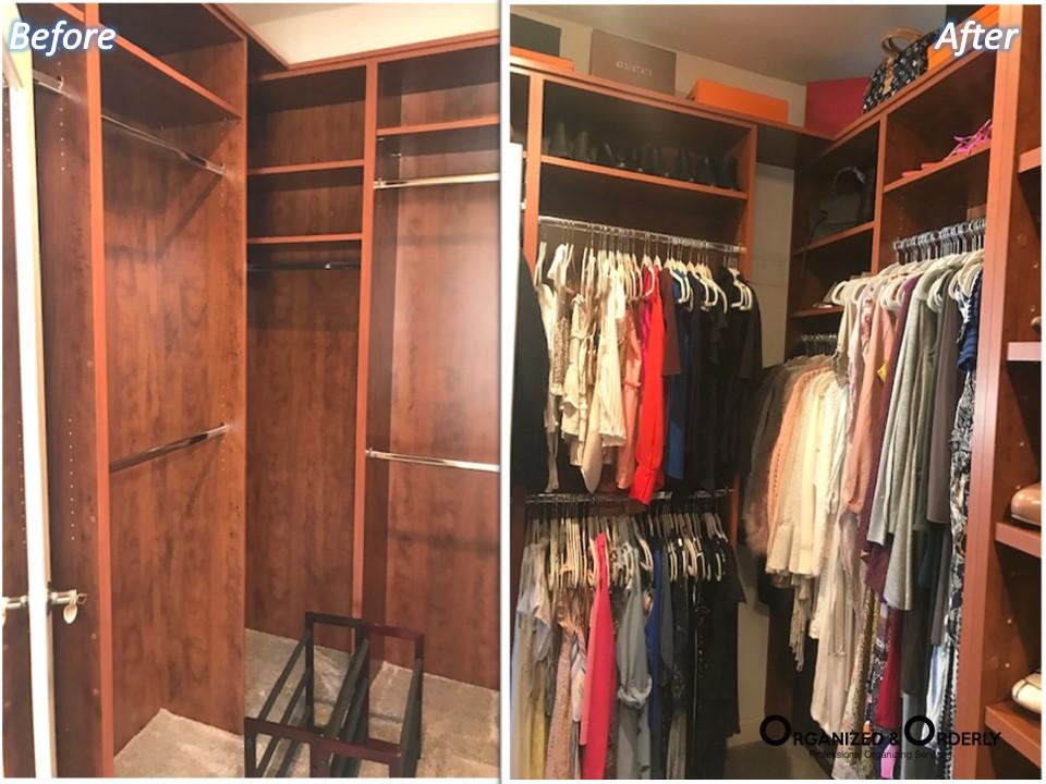 B&A Golden Poppy Closet