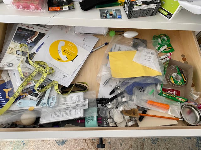 Messy Drawer