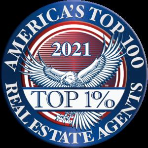 America's Top 100 Real Estate Agents 2021® Recipient Award