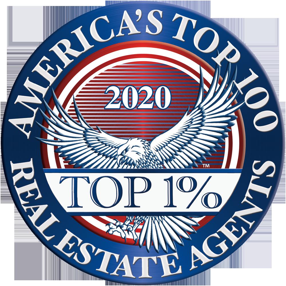 America's Top 100 Real Estate Agents 2019® Recipient Award