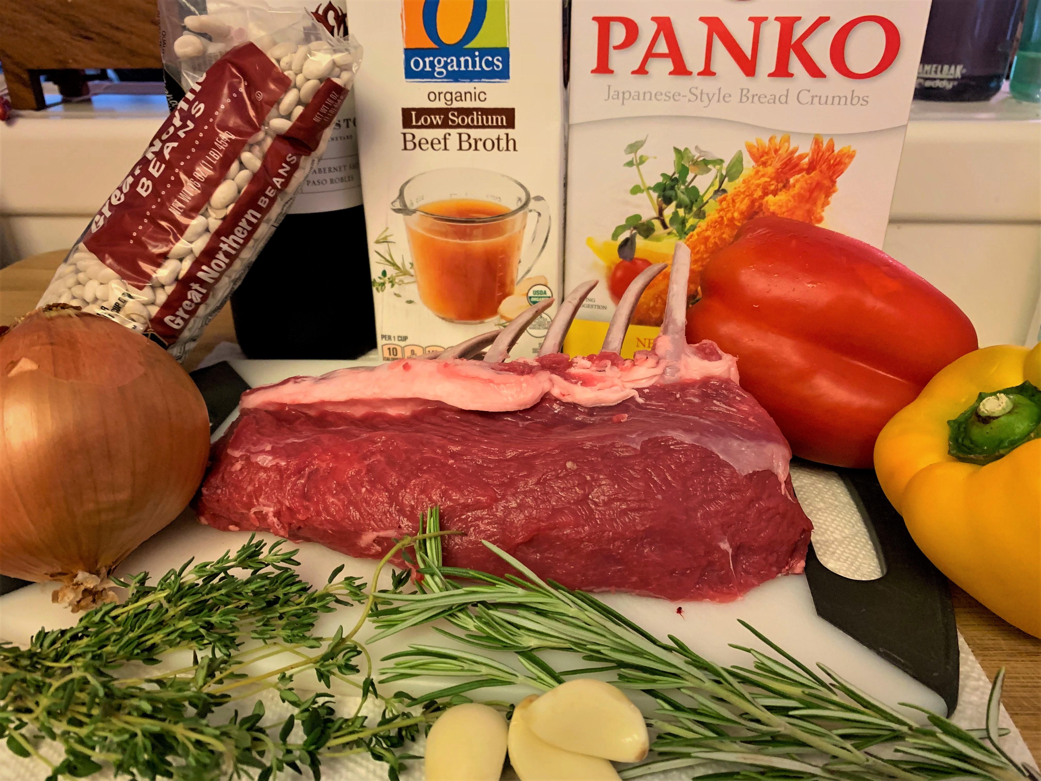 Rack of Lamb - Ingredients
