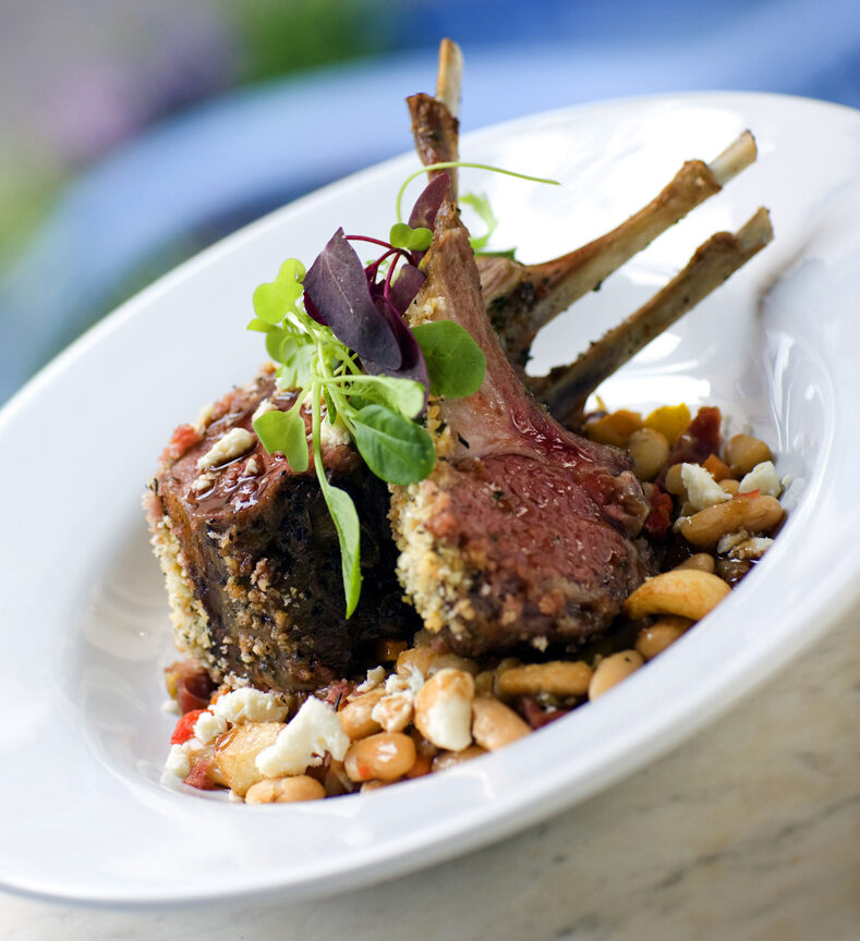 Herb Crusted Rack of Lamb - Blue Bayou Restaurant - Disneyland