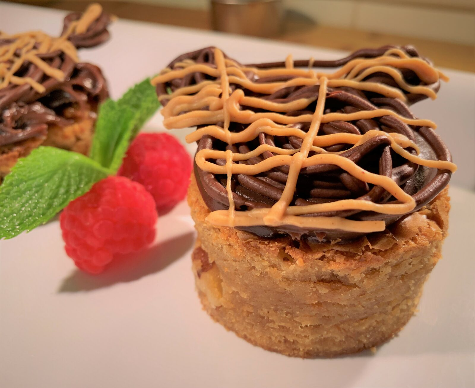 Completed Peanut Butter Blondies - Disney Cruise Line