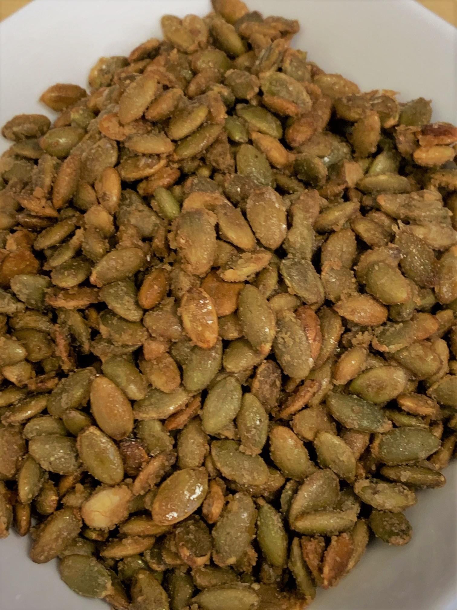 Candied Pumpkin Seeds