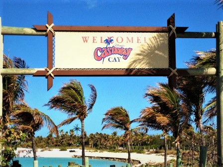 Castaway Cay Sign - Disney Cruise Line