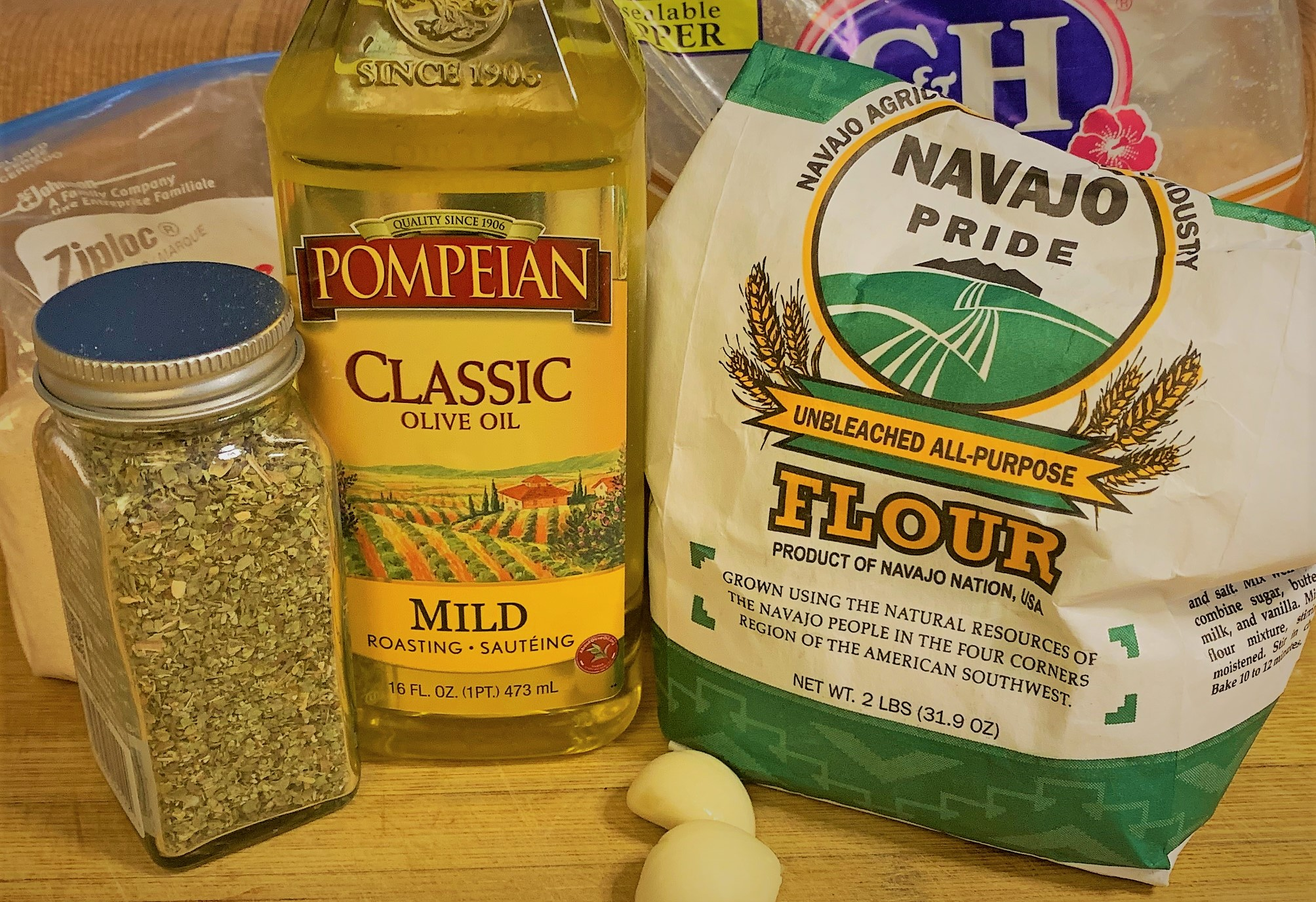 Ingredients for our Ronto Wrappers - Ronto Wrap