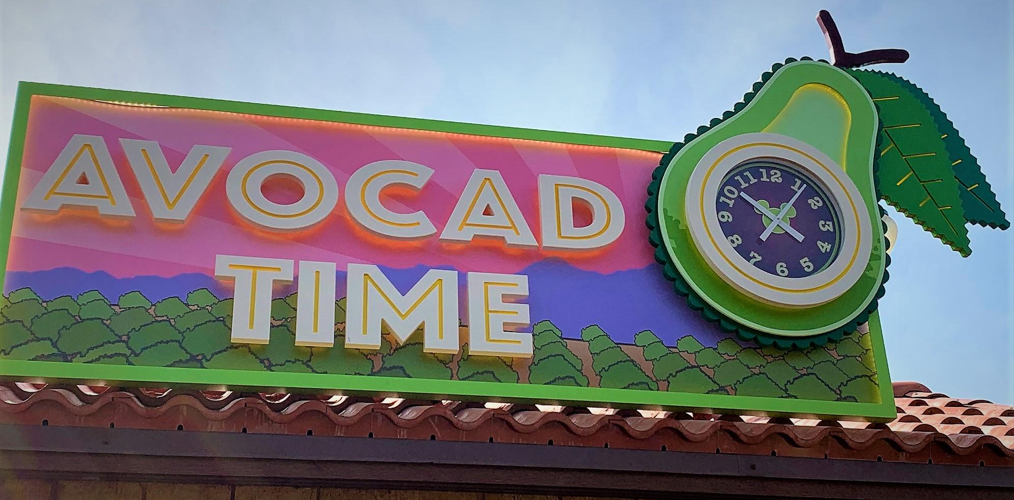 Avocado Time Booth - Disney California Adventure Food & Wine Festival