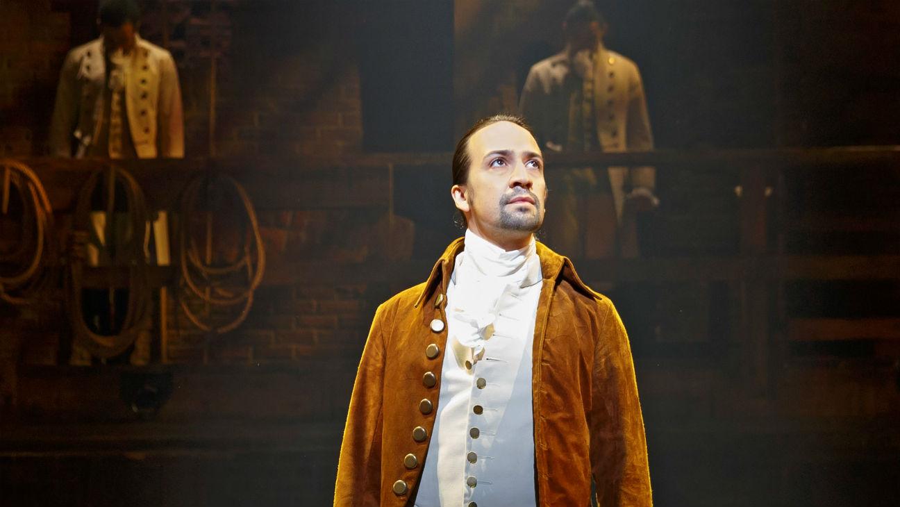 Lin-Manuel Miranda as Alexander Hamilton - In the Eye of a Hurricane - A Hamilton Inspired Cocktail