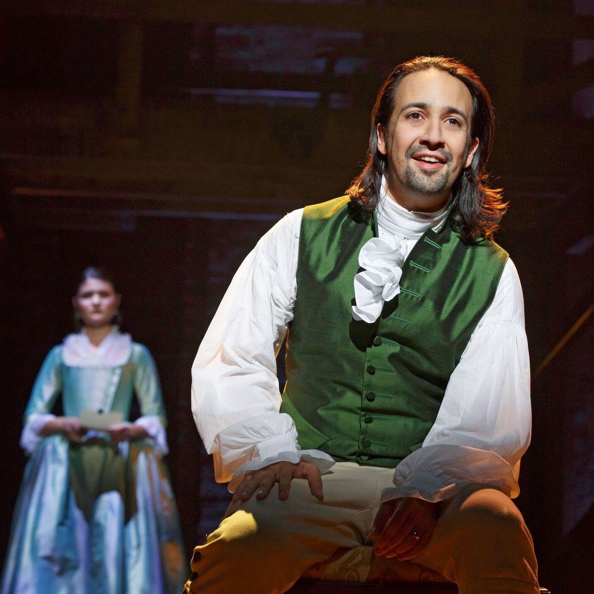 Alexander Hamilton portrayed by Lin-Manuel Miranda - Alexander Hamilton Fizz - A Hamilton Themed Cocktail