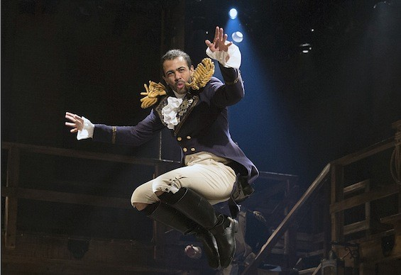 Lafayette portrayed by Daveed Diggs in Hamilton - America's Favorite Fighting French Martini - A Hamilton Themed Cocktail