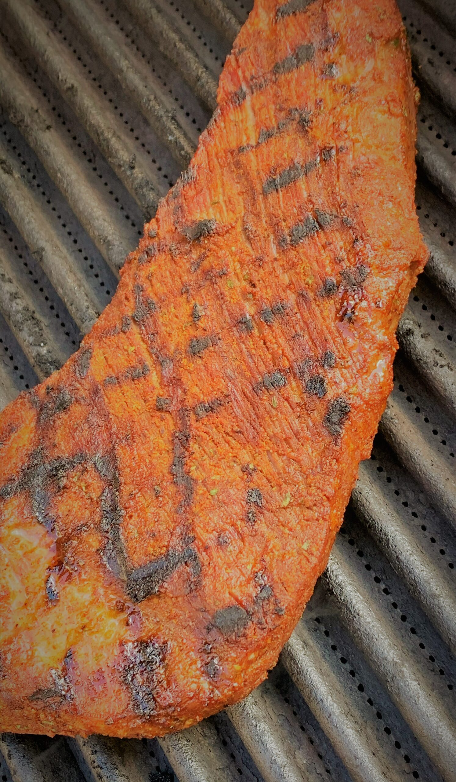 Our seared Santa Maria Style Tri-Tip moved to indirect heat to complete cooking