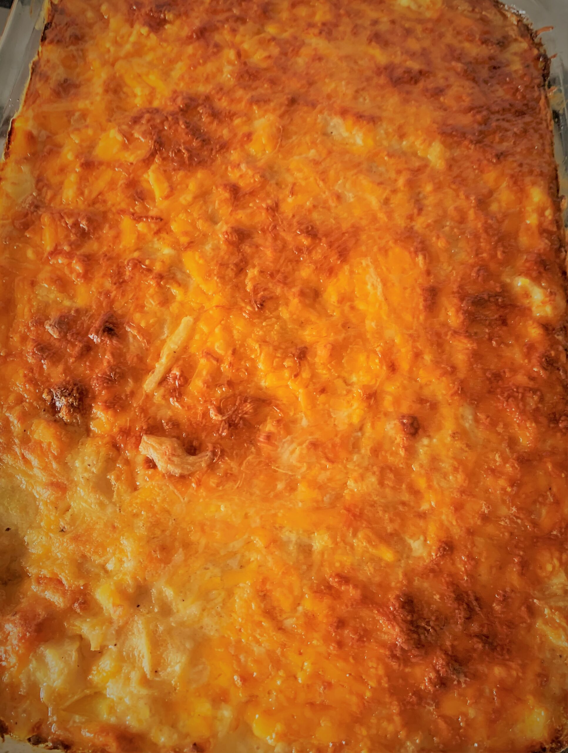 Our fully baked Breakfast Potato Casserole from Akershus Royal Banquet Hall