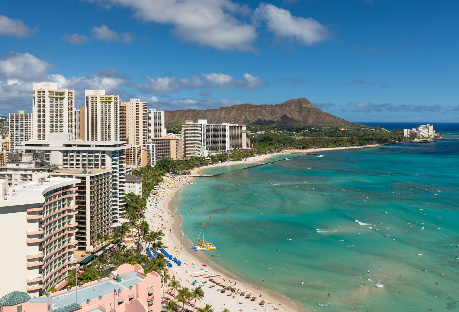 Waikiki Beach - Honolulu, Hawaii