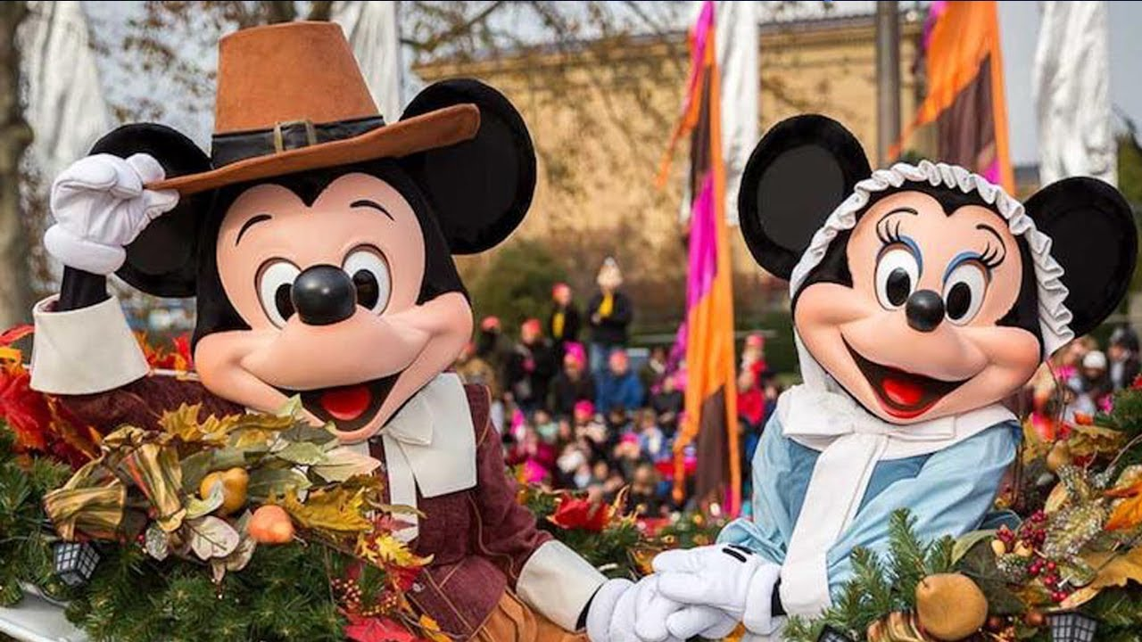Mickey and Minnie at Thanksgiving - Roasted Fall Vegetable Medley