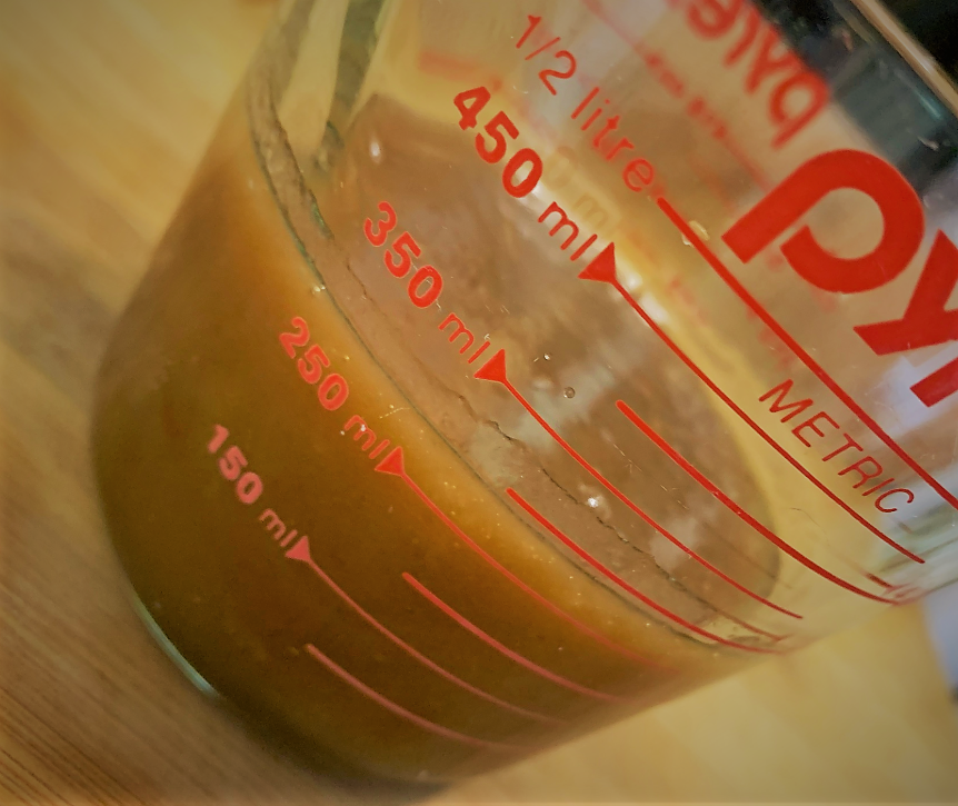 The Caramel Sauce for our Boma French Toast Bread Pudding with Pecan Praline Sauce Recipe