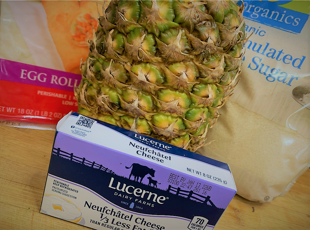 The Ingredients for our Disney Dishes Pongu Lumpia Recipe