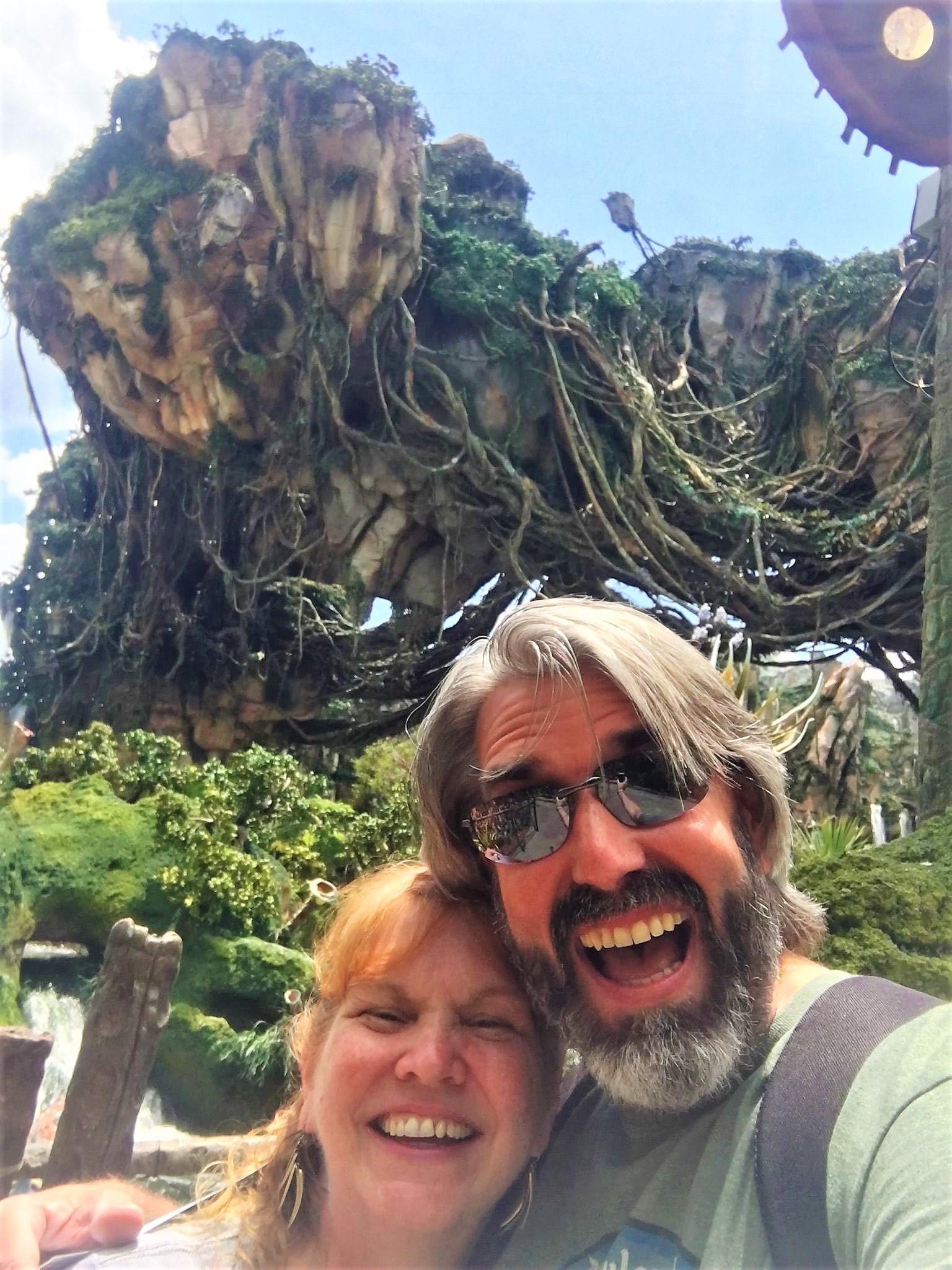 Tom & Michelle at Pandora - The World of Avatar at Disney's Animal Kingdom - Disney Dishes Pongu Lumpia Recipe