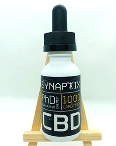 Synaptix CBD 1000 mg large pet tincture product