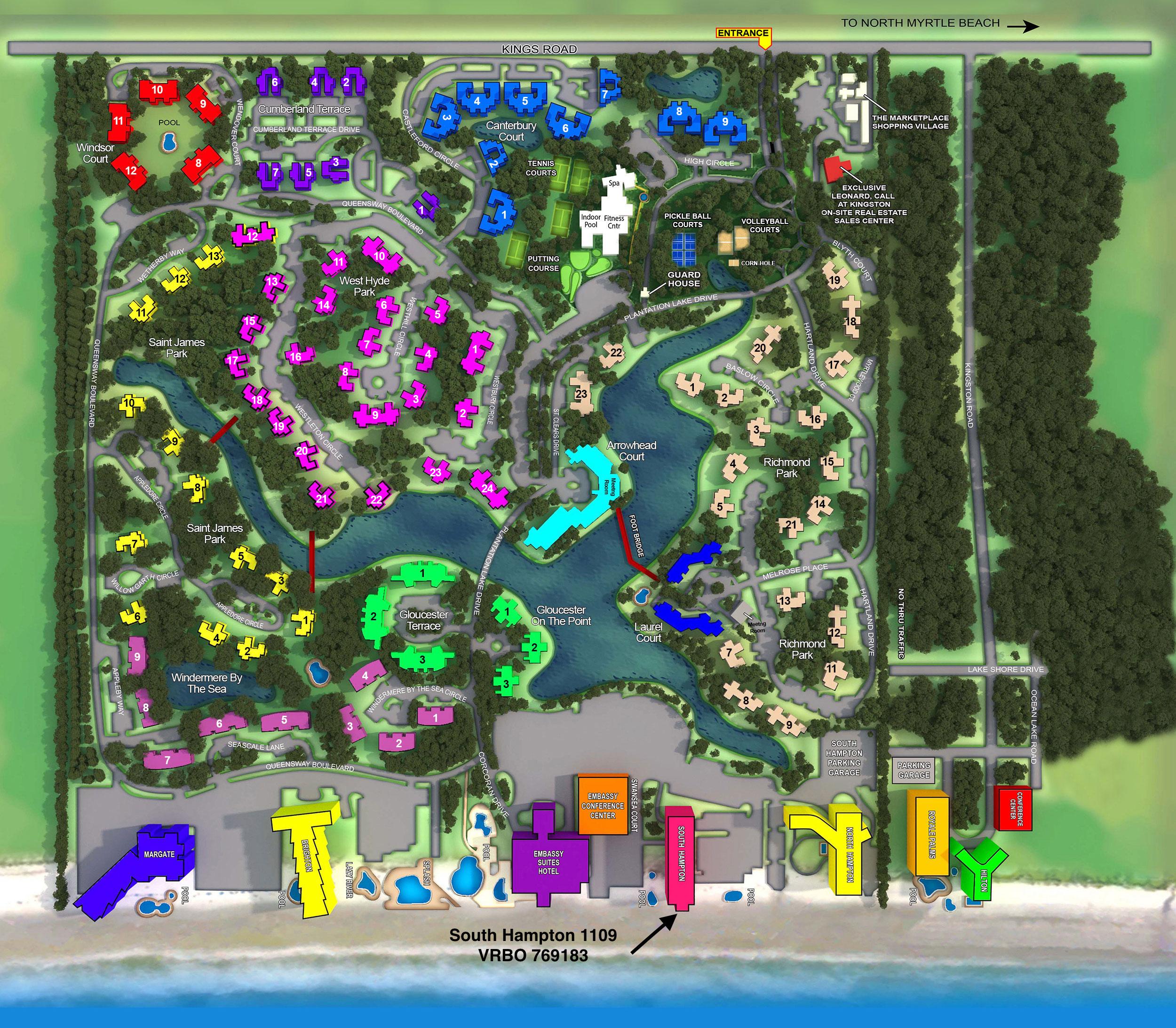 Bird's Eye View Of the Resort