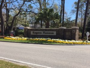 Kingston Plantation Entrance