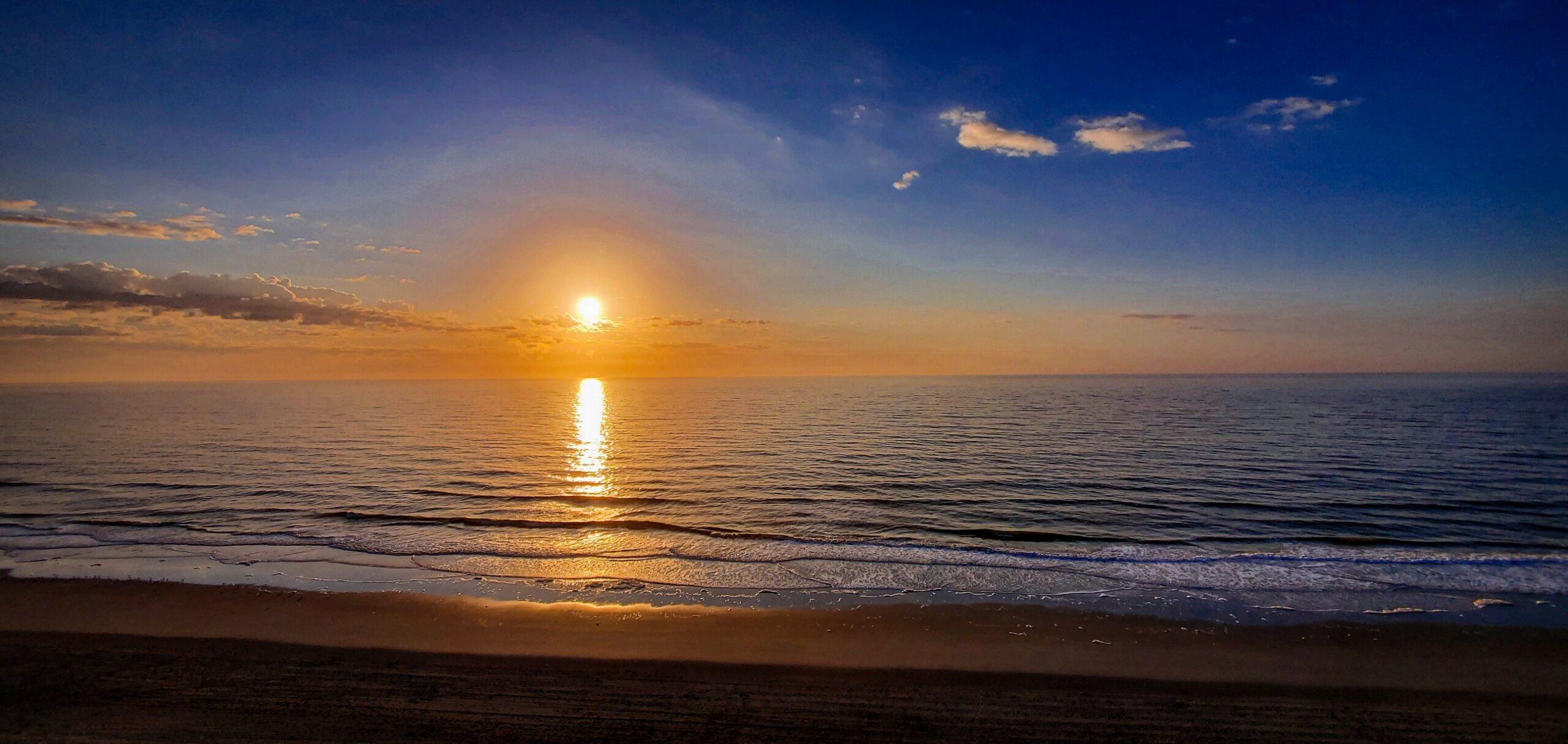Beautiful Sunrise From The South Hampton