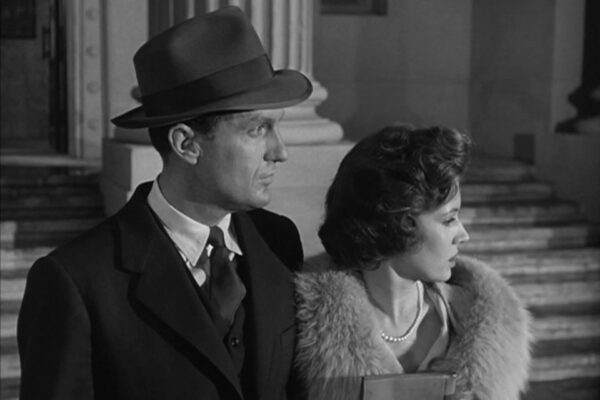 Eliot Ness looks to the future – unaware of the four years of television that await him.