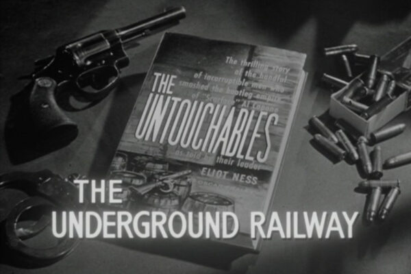 """The Underground Railway"" originally aired on December 31st, 1959. Cliff Roberston appears as a disfigured criminal on the run from Eliot Ness in director Walter Grauman's first episode to air for the series."