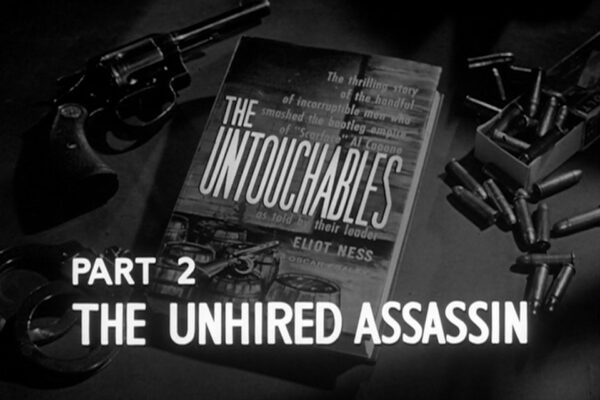 "Part II of ""The Unhired Assassin"" originally aired on March 3rd, 1960. The Capone mob's first attempt on Mayor Cermak's life won't be its last as Eliot Ness chases down leads in a desperate attempt to stop them."