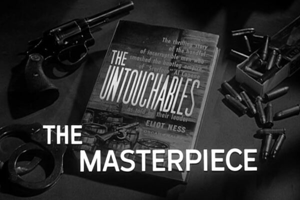 """The Masterpiece"" originally aired on January 19th, 1961. After killing a newspaper editor, a Capone lieutenant hires a professional hitman to rub out his eccentric gunsmith to cover his connection to the crime."