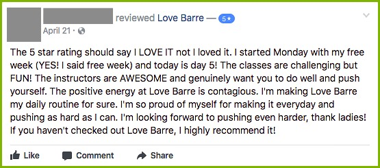 love barre review
