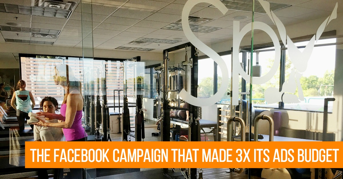 The Facebook Campaign that Earned 3X Its Ads Budget