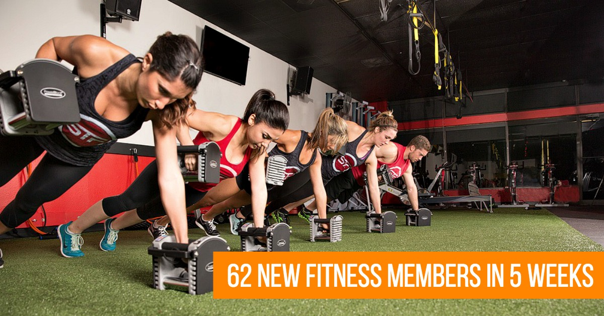 How South Tampa Fit Got 62 New Fitness Members in 5 Weeks