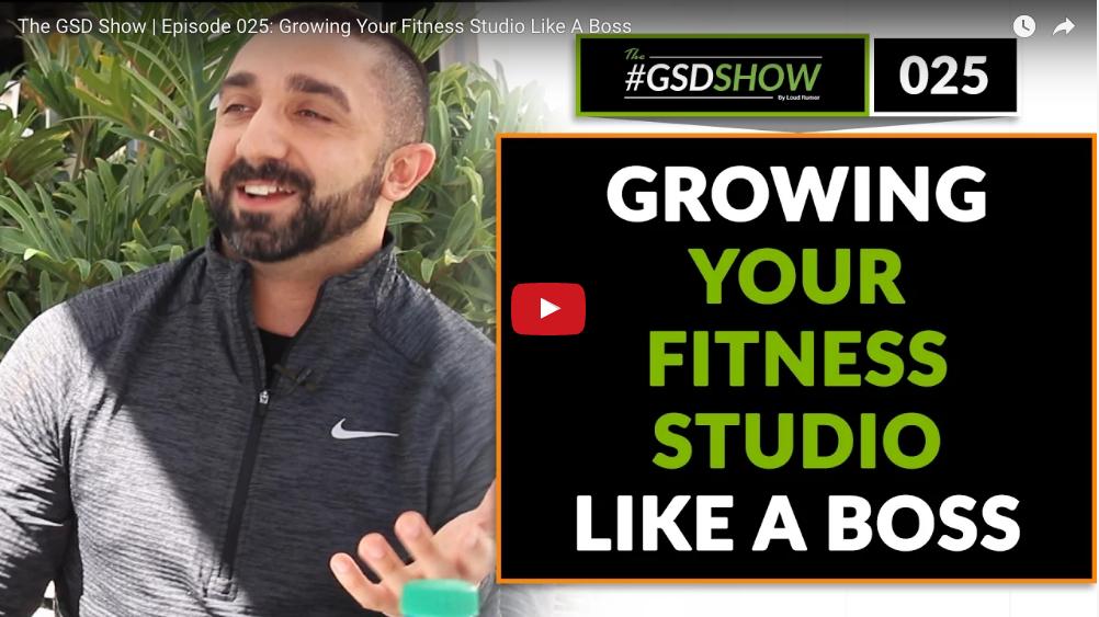Facebook groups fitness studio