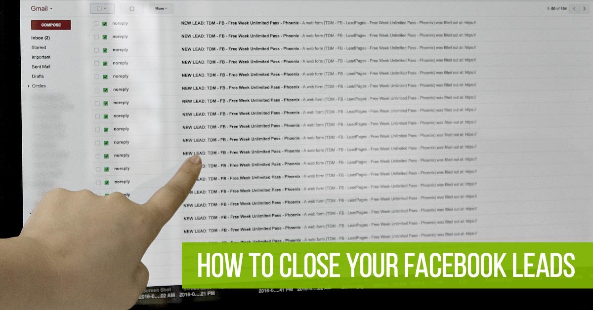 Close Facebook Leads