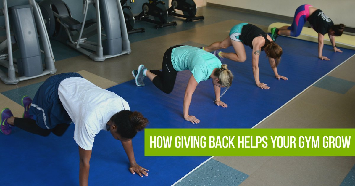 How Giving Back Helps Your Gym Grow