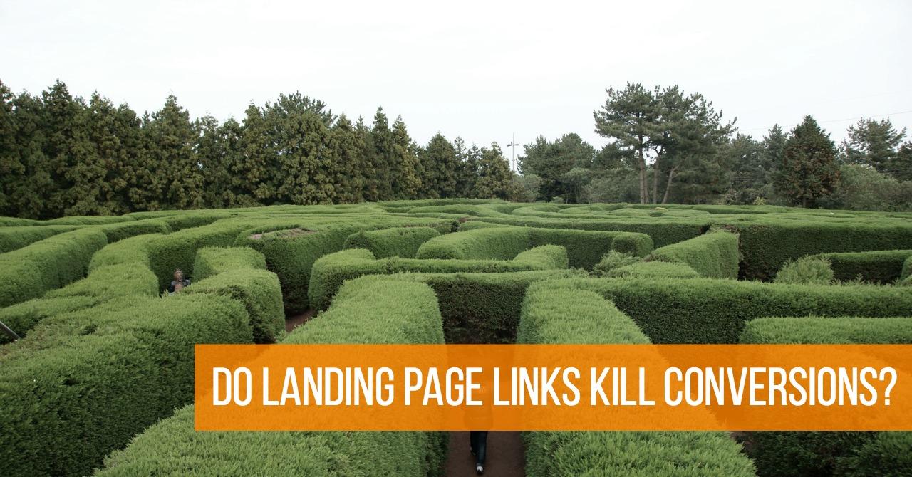 Landing Page Links
