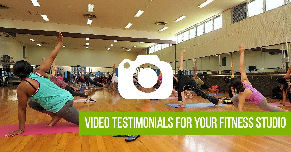Video Testimonials for Your Fitness Studio