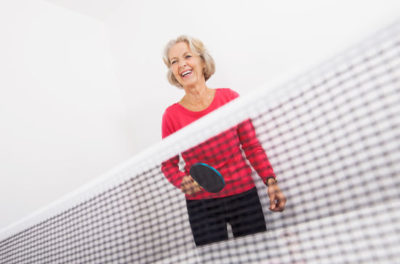 ping pong and low impact sports for seniors